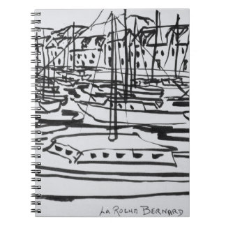 La Vilaine River | La Roche-Bernard, Brittany Notebooks