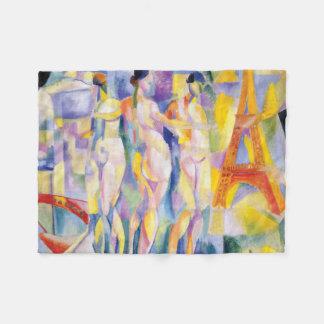 La Ville de Paris by Robert Delaunay Fleece Blanket
