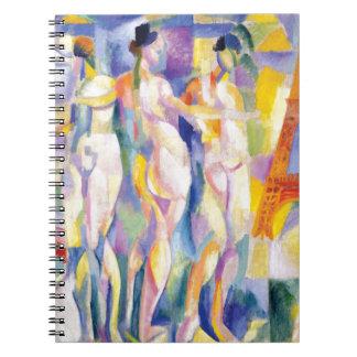 La Ville de Paris by Robert Delaunay Notebook