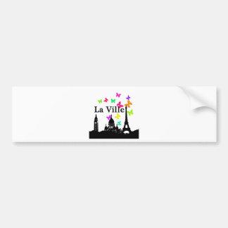 La Ville: Paris Bumper Sticker