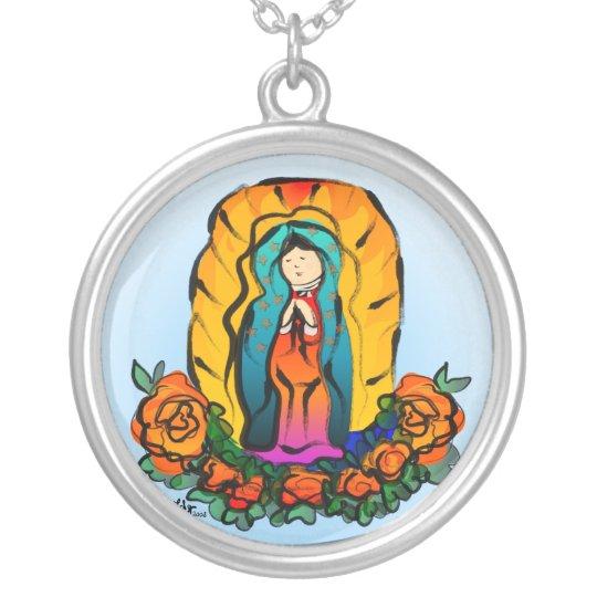 La Virgen de Guadalupe Necklace