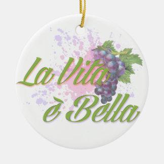 La Vita e' Bella Christmas Ornament