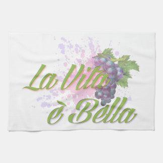 La Vita e' Bella Tea Towel