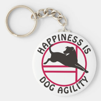 Lab Agility Happiness Key Chains