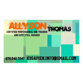 Lab/Brittany mix Pup for Positive Training!! Business Card