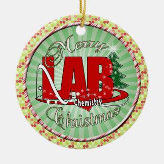 LAB CHEMISTRY CHRISTMAS CHRISTMAS ORNAMENT