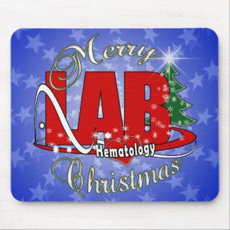 LAB HEMATOLOGY CHRISTMAS MOUSE PAD