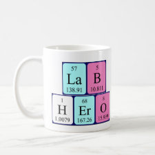 Lab Hero Periodic tablemug
