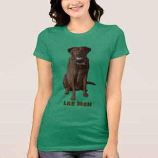 Lab Mom Chocolate Labrador Retriever T-Shirt