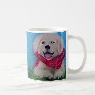 Lab Puppy Art Coffee Mug