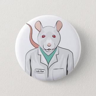 Lab Rat 6 Cm Round Badge
