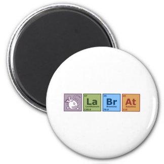 Lab Rat 6 Cm Round Magnet