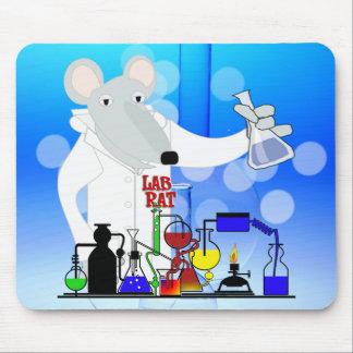 LAB RAT CHEMISTRY MOUSE PAD