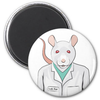 Lab Rat Magnet