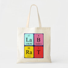 Lab Rat Periodic table bag