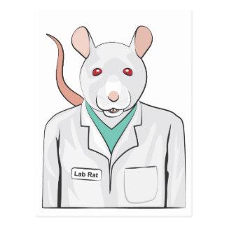 Lab Rat Postcard