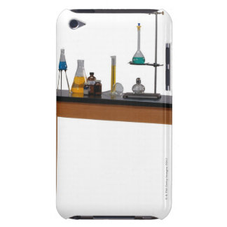 Lab table with chemicals iPod touch Case-Mate case
