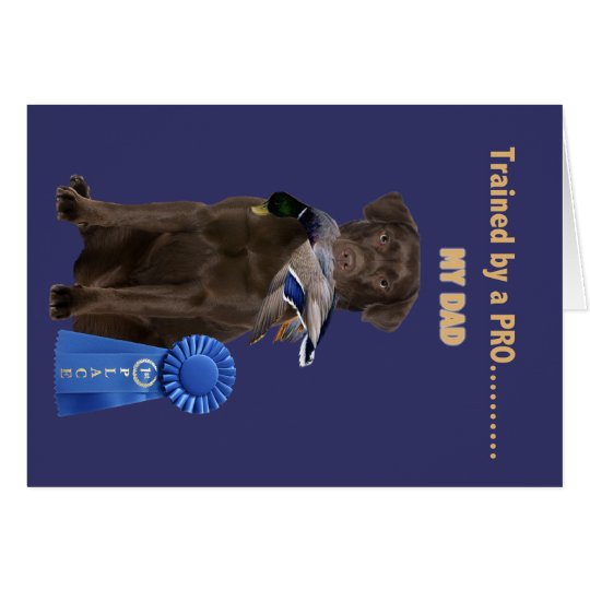 Lab Trained By A Pro gifts for Dad