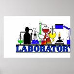 LAB WARE  LABORATORY GLASSWARE POSTER