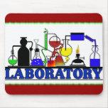 LAB WARE - LABORATORY GLASSWARE SETUP MOUSE PAD