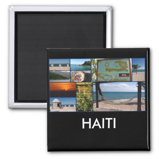 Labadee, Haiti square magnet