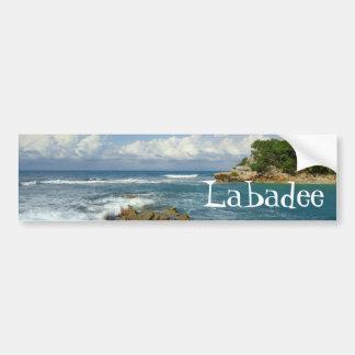 Labadee Seascape Bumper Sticker