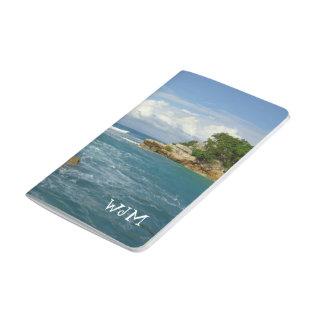 Labadie Seascape Monogrammed Travel Journal