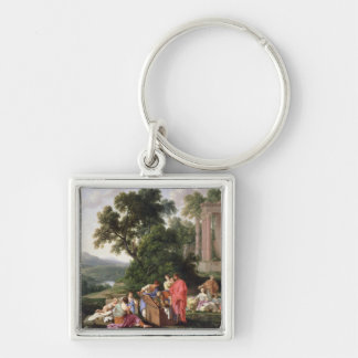 Laban Searching for the Idols, 1647 Key Chains