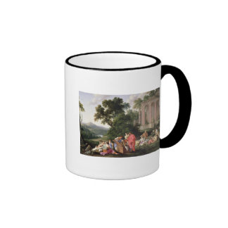 Laban Searching for the Idols, 1647 Coffee Mug