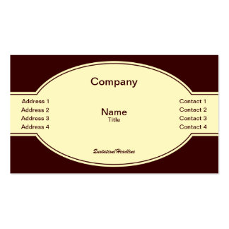 Label Business Card