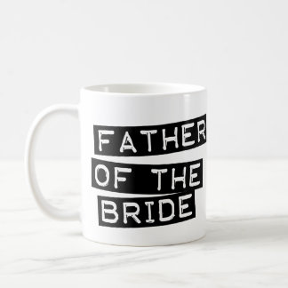 Label Father of the Bride Coffee Mugs