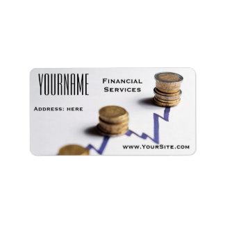 Label: Financial Services Address Label