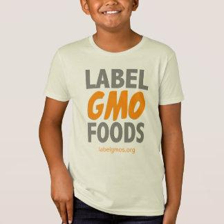 Label GMO Foods T-Shirt