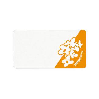 Label popcorn