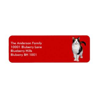 Label Return Address Cat Return Address Label
