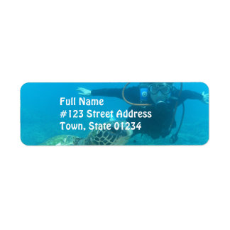 Label Template - Customized Return Address Label