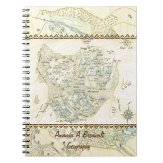 Labeled Map of Trino Notebooks