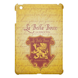 LaBella Bocce Mini iPad Cover