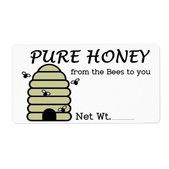 Labels for Honey