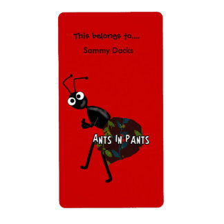 Labels Stickers Bookplate Ants In Pants