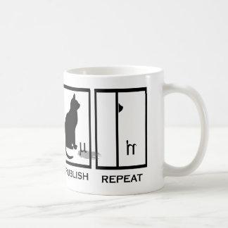 LabKitty Mantra Basic White Mug