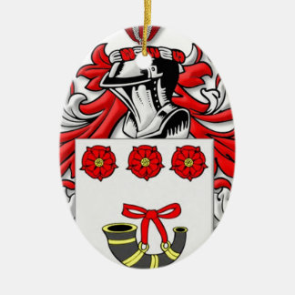 Labonte Coat of Arms Christmas Tree Ornaments