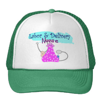 Labor and Delivery Nurse Gifts Trucker Hats