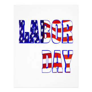 Labor Day 21.5 Cm X 28 Cm Flyer