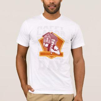 Labor Day Greeting Card Builder Hammer House Shiel T-Shirt
