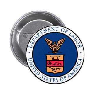 Labor Department 6 Cm Round Badge
