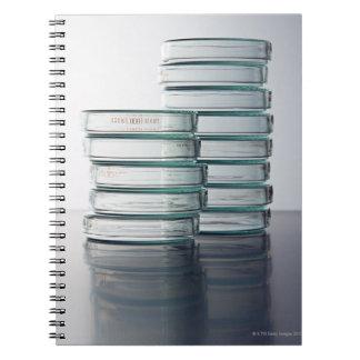 Laboratory Dish Notebooks