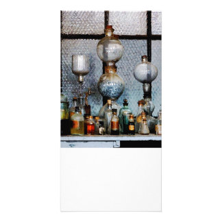 Laboratory Glassware Photo Card