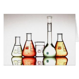 laboratory greeting card