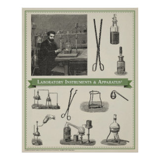 Laboratory Instruments & Apparatus 3 Poster